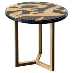 Romeo Abstract Side Table by Chiara Provasi