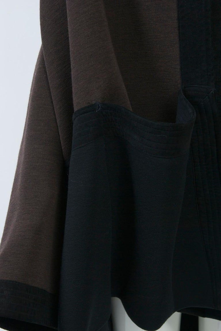 Romeo Gigli Brown/Black Kimono Jacket For Sale 1