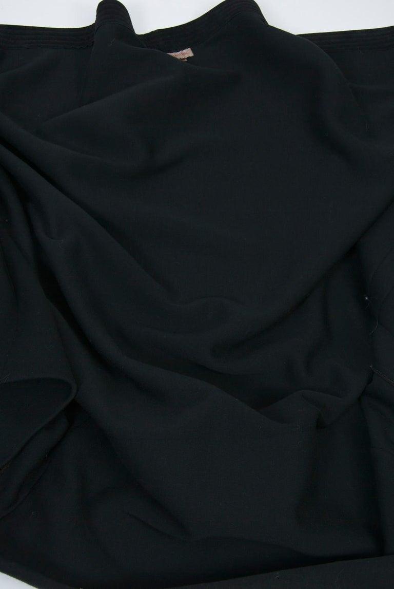 Romeo Gigli Brown/Black Kimono Jacket For Sale 5