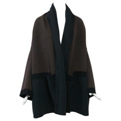 Romeo Gigli Brown/Black Kimono Jacket