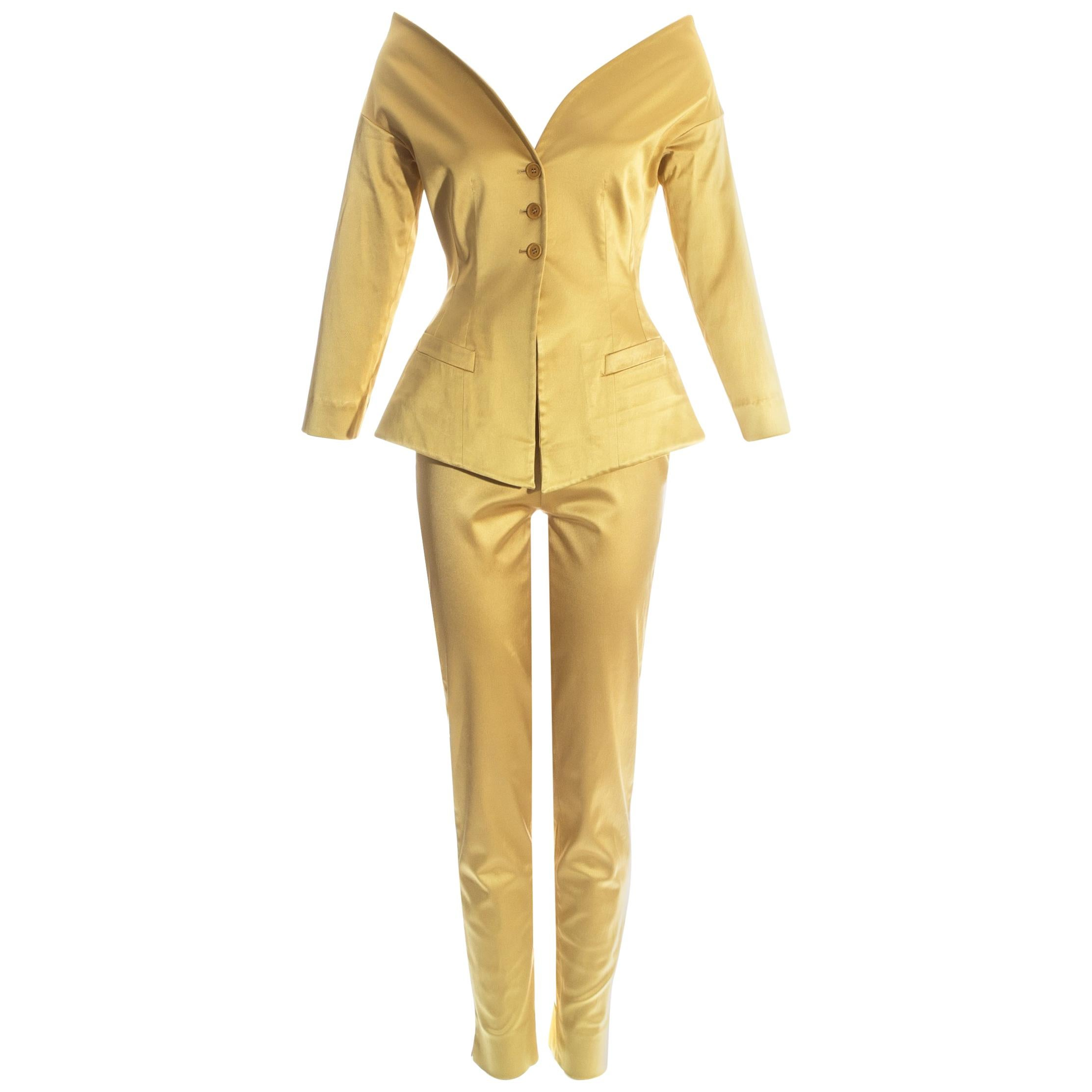 07b4d599af9 Satin Pant Suits - 57 For Sale on 1stdibs