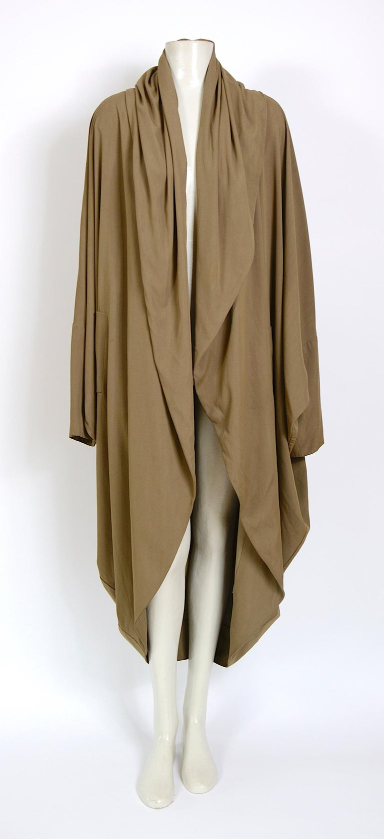 Romeo Gigli collectors cocoon coat Purchase over more than 30 years ago at the