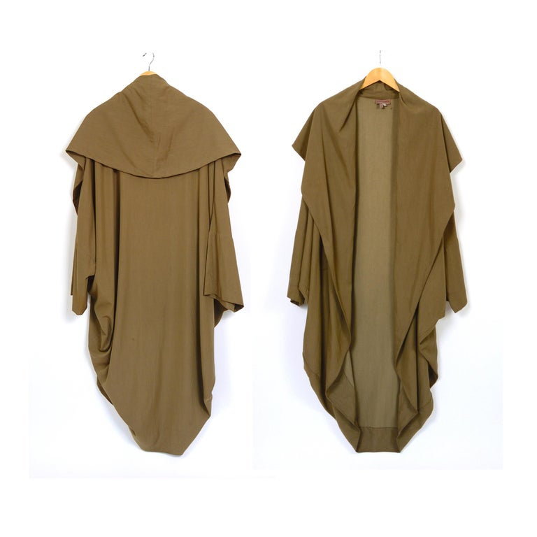 Women's or Men's Romeo Gigli vintage 1990s collectors cocoon coat For Sale