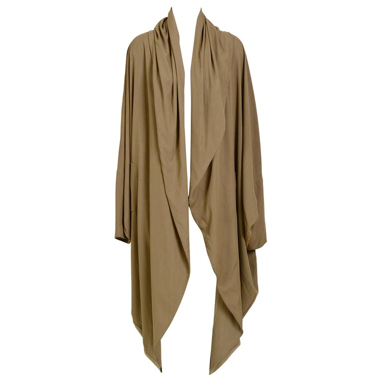 Romeo Gigli vintage 1990s collectors cocoon coat For Sale