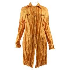 Romeo Gigli Vintage Crinkled Jacket