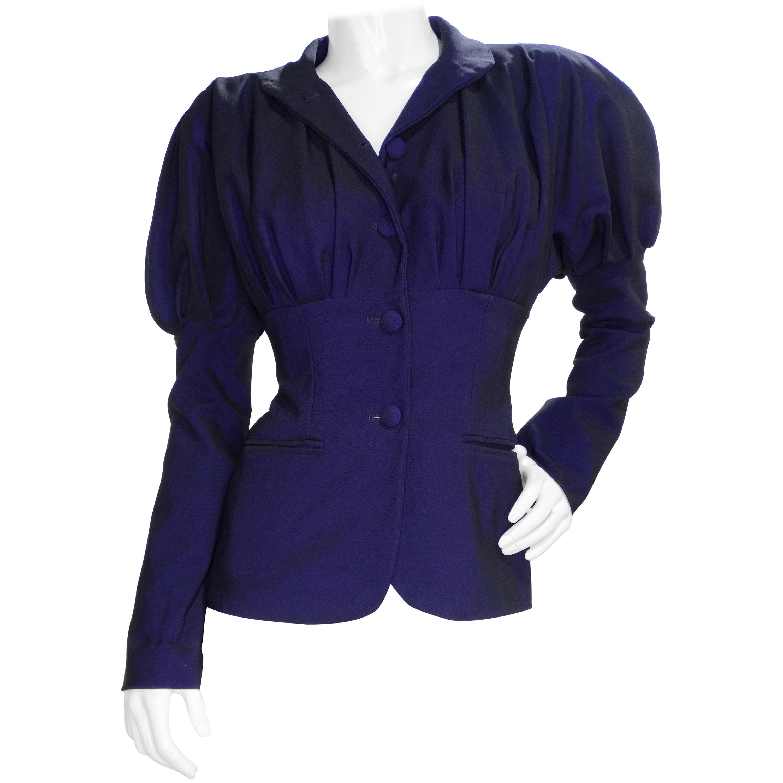 Romeo Gigli Vintage Purple Blazer