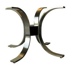 Italian Modernist Table Base attributed to Romeo Rega, 1970s