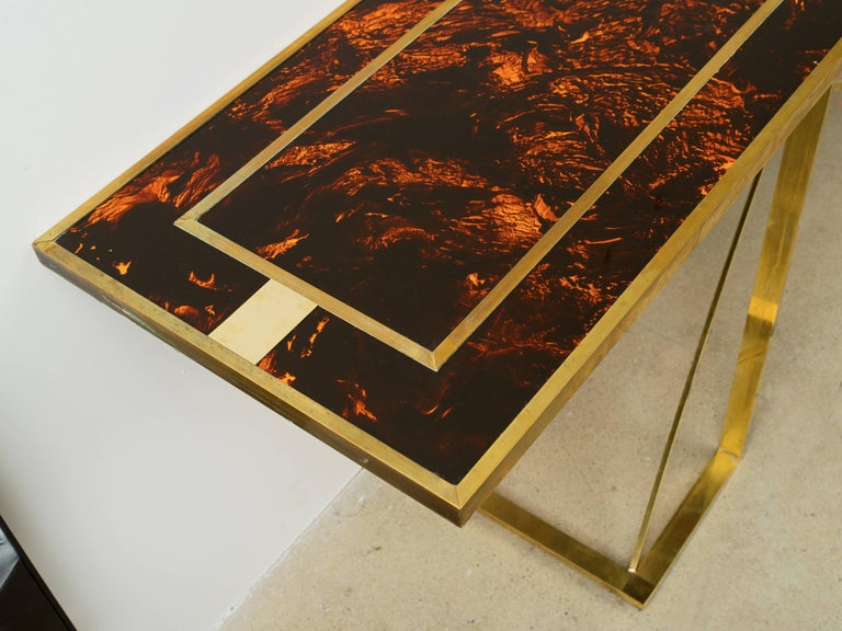 Romeo Rega Console Table  In Good Condition For Sale In New York, NY