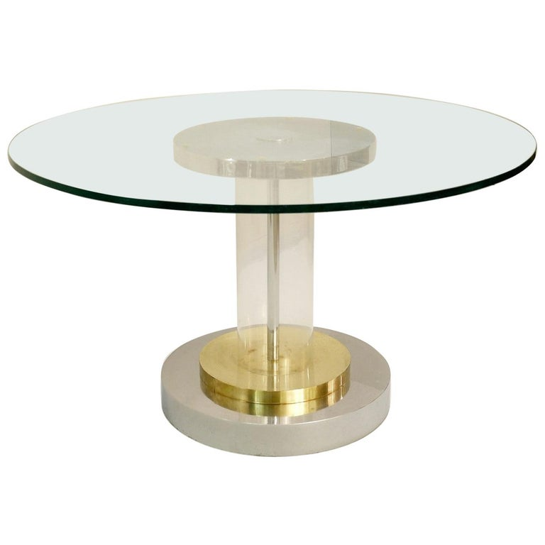 Romeo Rega Dining Table, Italy, 1970s For Sale