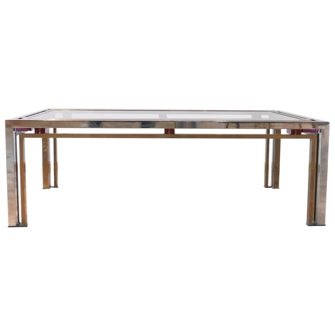 Romeo Rega Hollywood Regency Style Midcentury Coffee Table