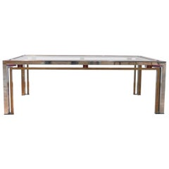 Romeo Rega Hollywood Regency Style Midcentury Coffee Table