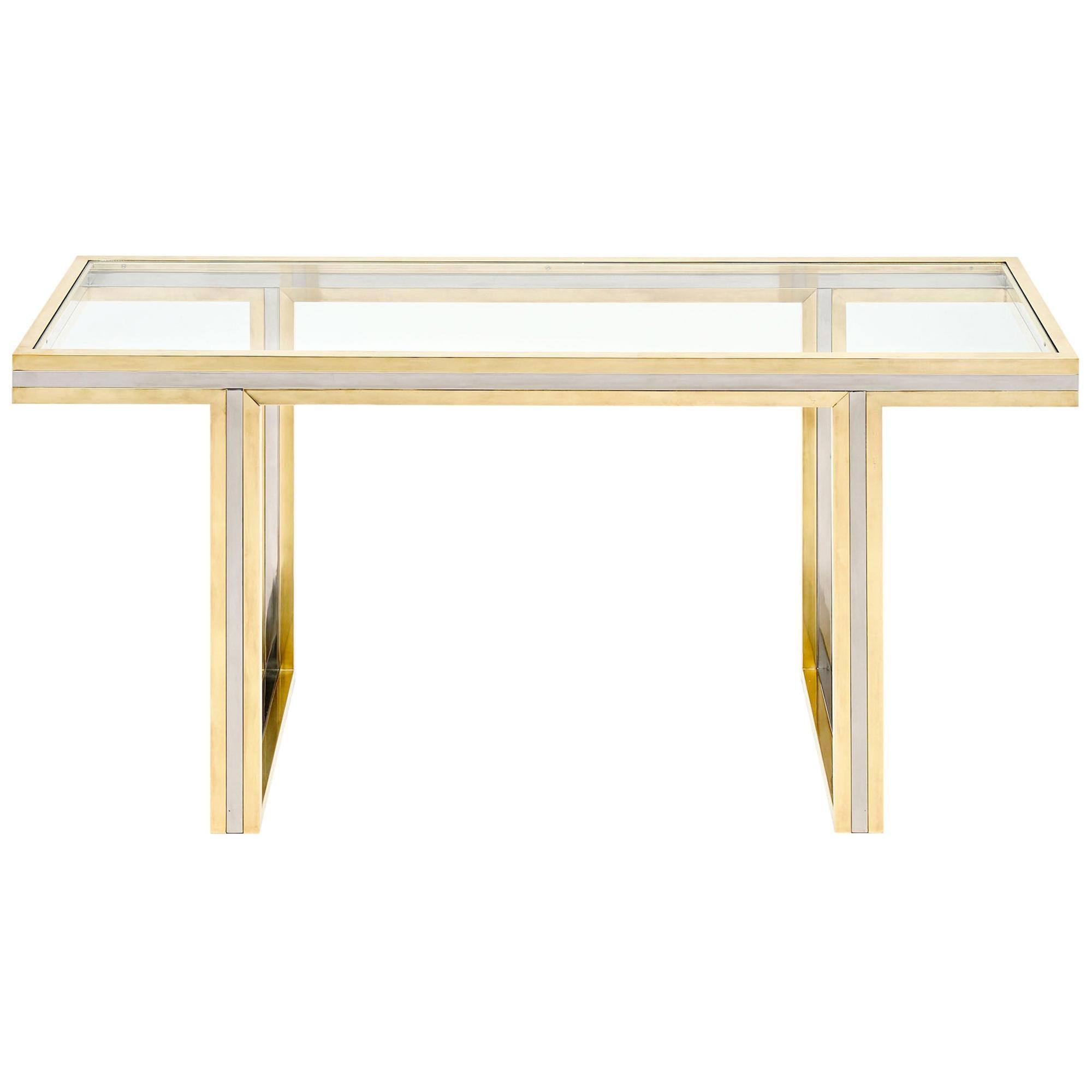 Romeo Rega Signed Console Table
