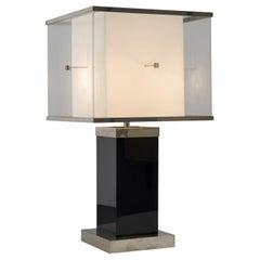 Romeo Rega Table Lamp in Lucite
