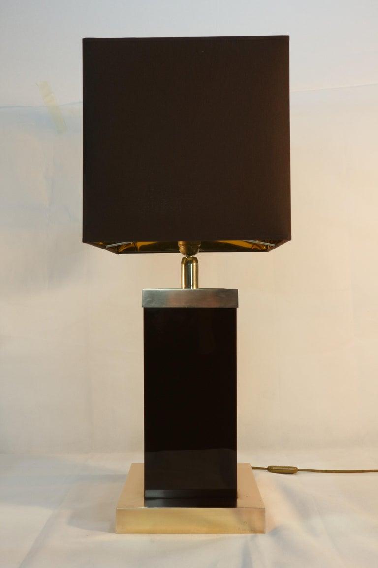 Romeo Rega Table Lamp Signed, 1970s 2