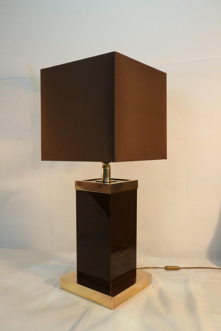 Romeo Rega Table Lamp Signed, 1970s 3