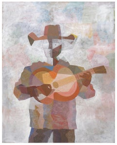 Guitar Player with Hat