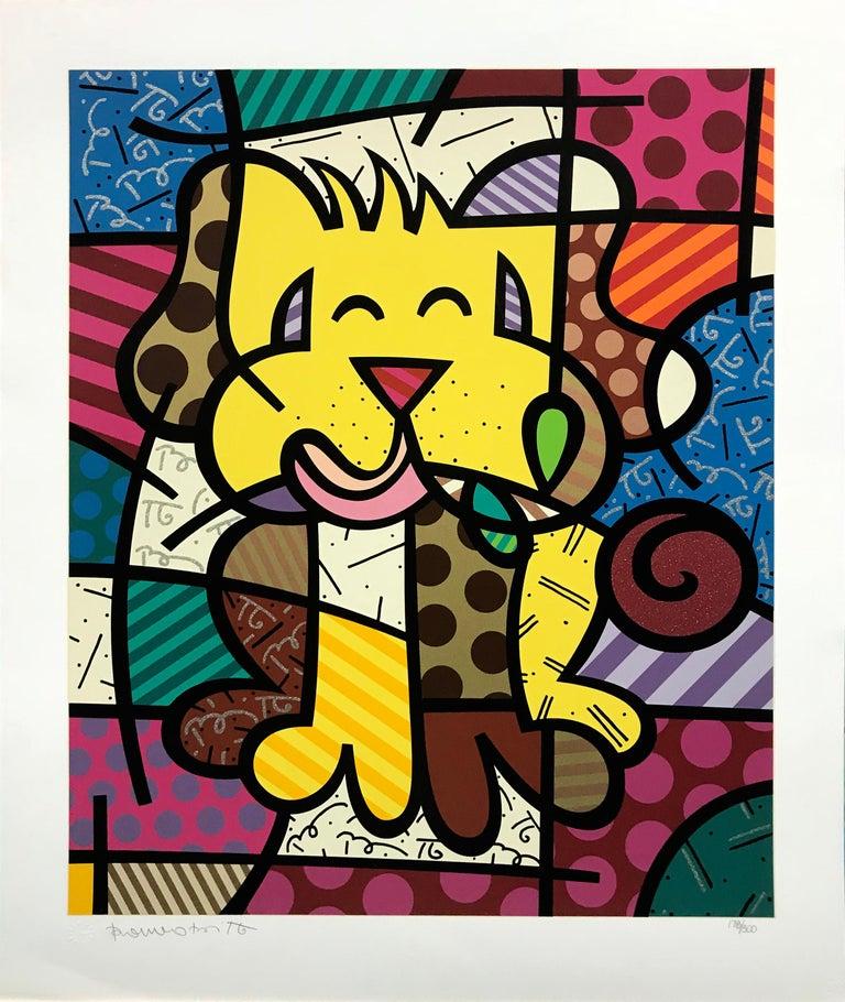 BEST FRIEND - Print by Romero Britto