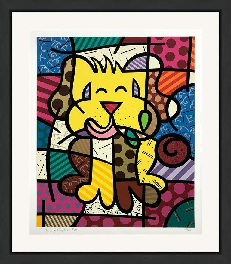 Romero Britto Figurative Print - BEST FRIEND