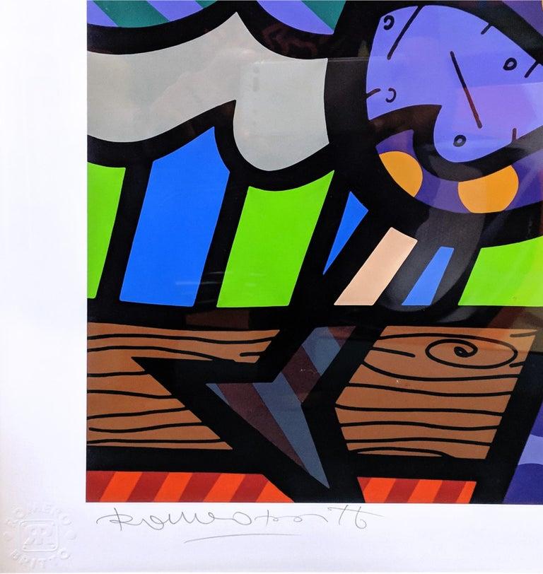 CELEBRATING - Pop Art Print by Romero Britto