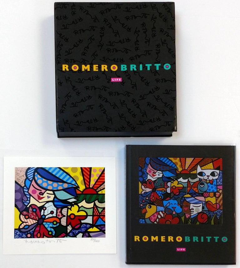 ROMERO BRITTO LIFE BOOK