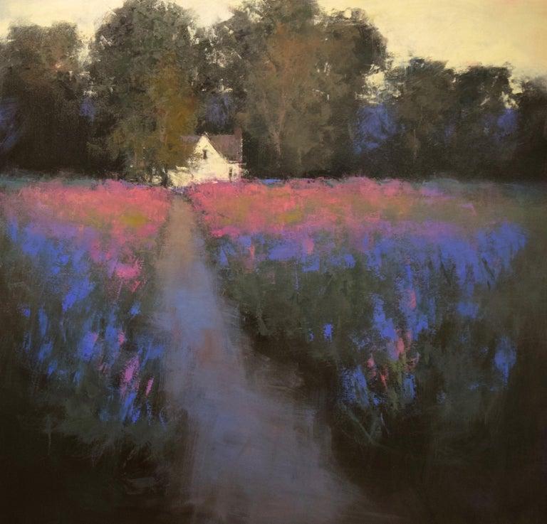 "Romona Youngquist, Landscape Painting - ""Dusky Glow"""