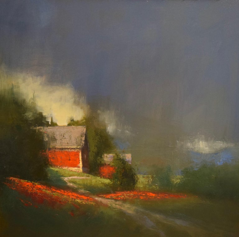 "Romona Youngquist, Landscape Painting - ""Misty Valley"""