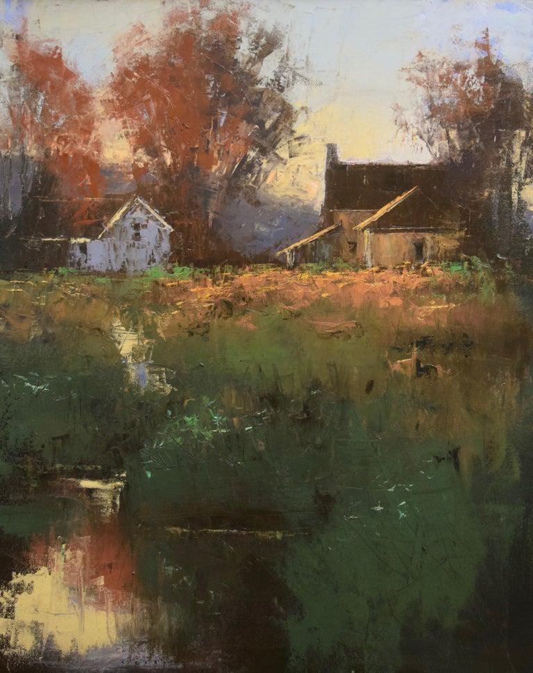 "Romona Youngquist, Landscape Painting - ""Soft Light"""