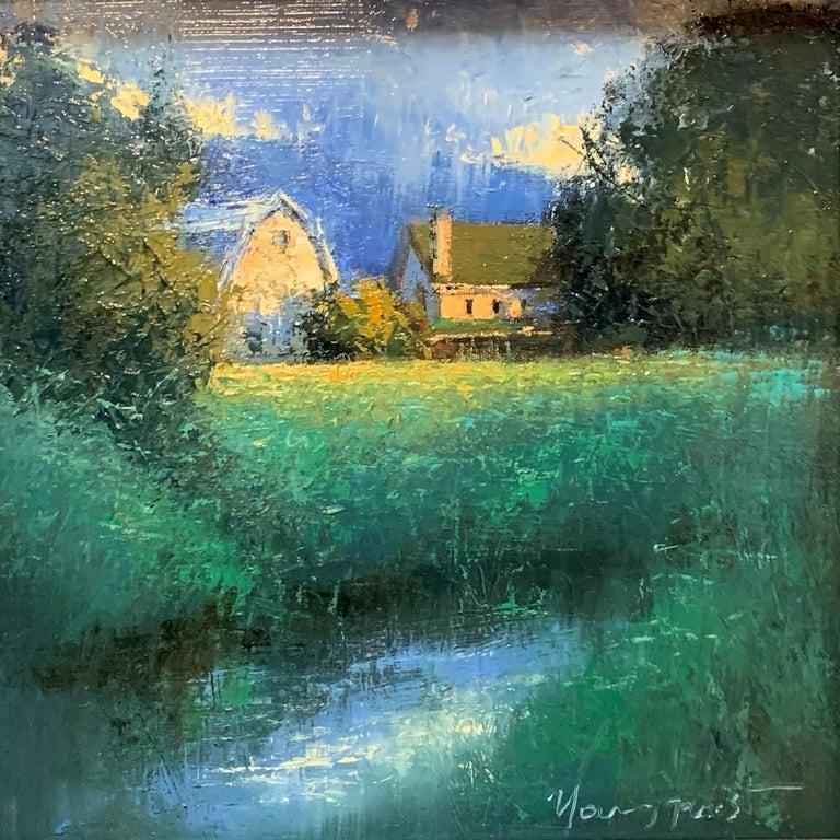 "Romona Youngquist, Landscape Painting - ""Spring Rain"""