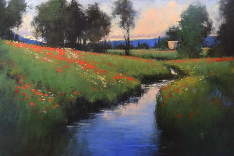 "Romona Youngquist, Landscape Painting - ""Summer Field"""