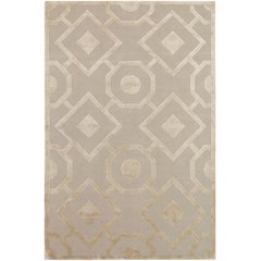Romy Hand-Knotted 10x8 Floor Rug in Wool and Silk by Suzanne Sharp