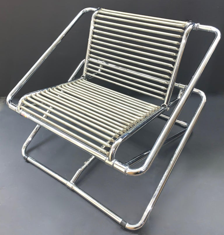 Post-Modern Ron Arad English Postmodern 'One off' Rocking Chair For Sale