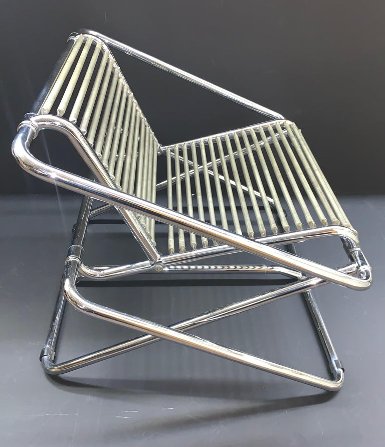 Ron Arad English Postmodern 'One off' Rocking Chair In Good Condition For Sale In New York, NY