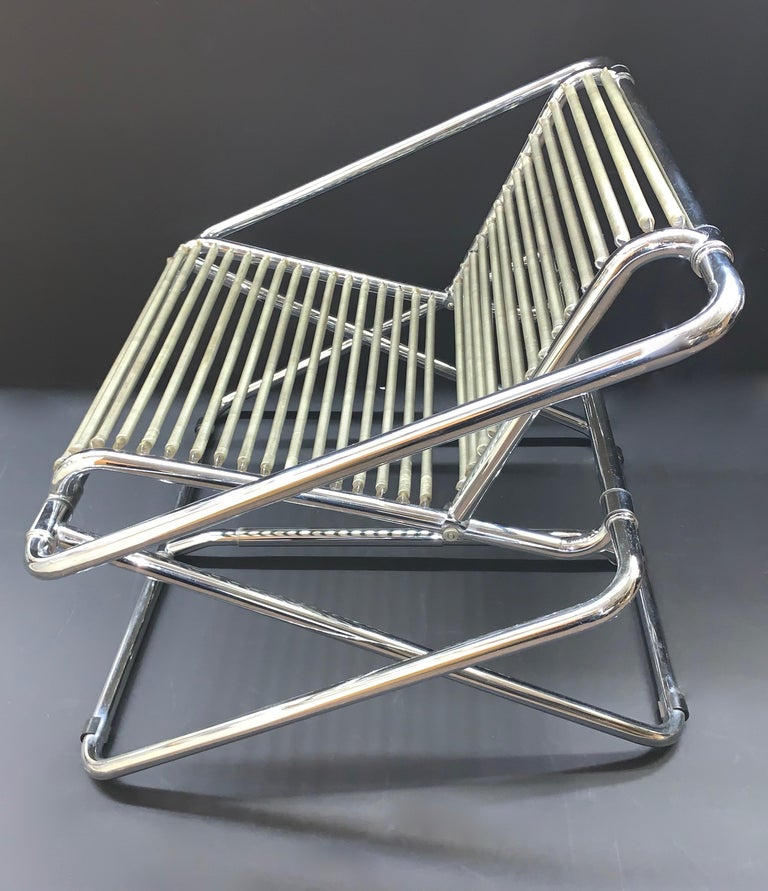 Late 20th Century Ron Arad English Postmodern 'One off' Rocking Chair For Sale