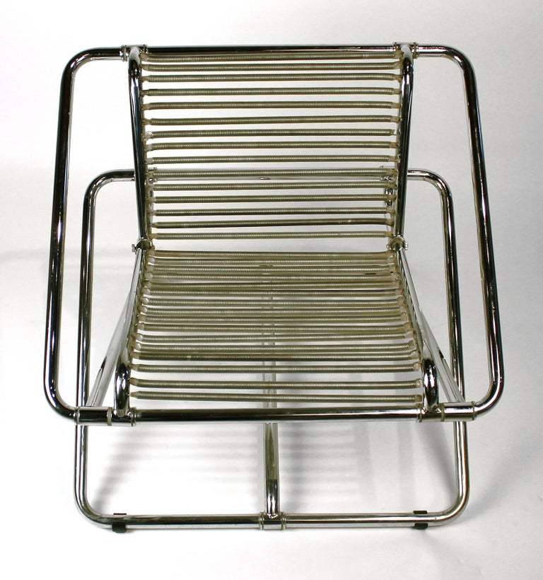 Ron Arad 'One Off' Rocking Chair In Excellent Condition For Sale In Dallas, TX