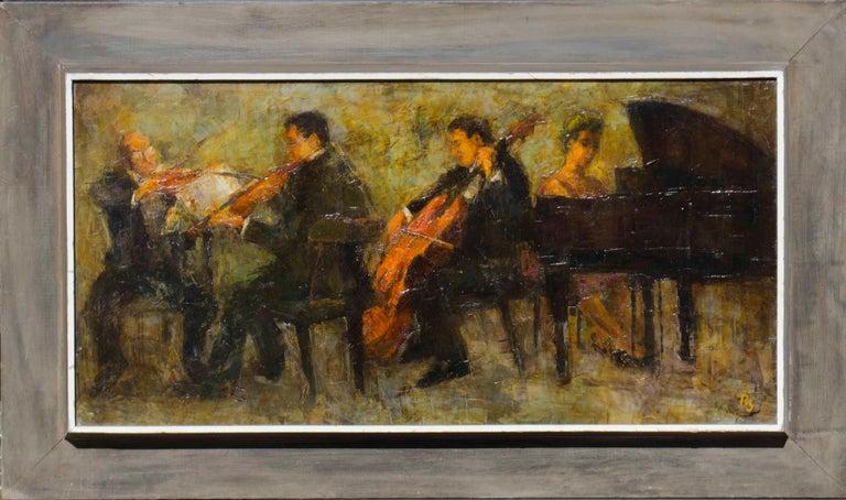 Quartet - Painting by Ron Blumberg