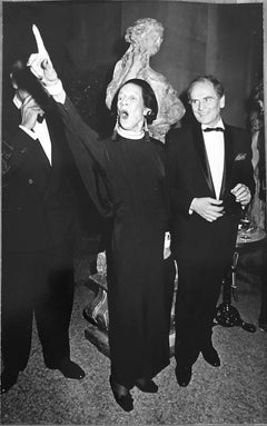 Designer Diana Vreeland Pointing, December 10, 1975