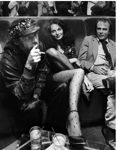 Diane von Furstenberg and Ara Gallant at Studio 54, New York, 1978