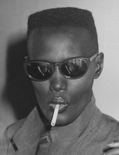 Grace Jones at Bond's, New York, 1980