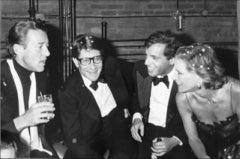 Halston, Yves St. Laurent, Steve Rubell & Nan Kempner