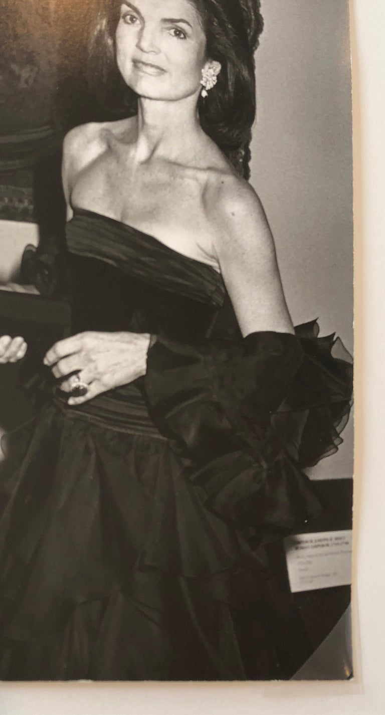 Jacqueline Kennedy Onassis at the Metropolitan Museum of Art 1