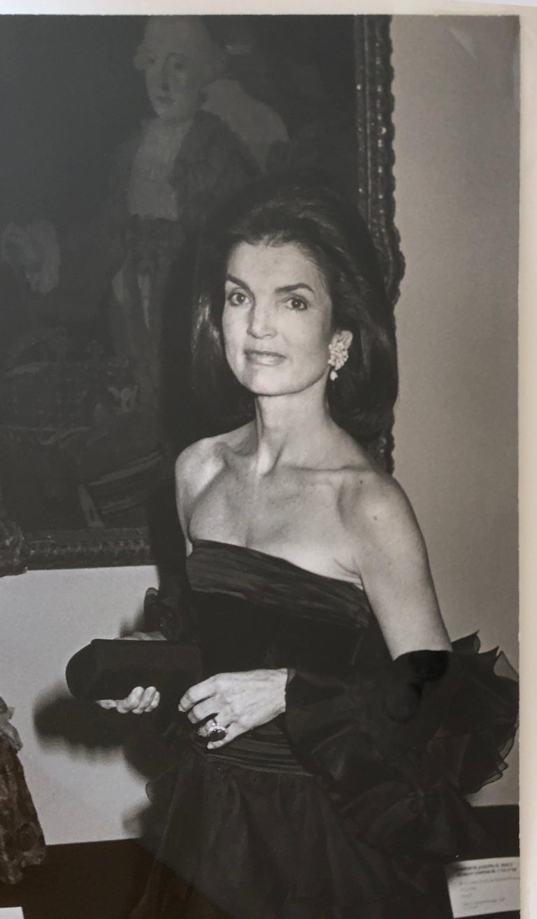 Jacqueline Kennedy Onassis at the Metropolitan Museum of Art For Sale 4