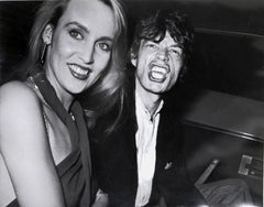 """""""Limelight"""", Photo of Mick Jagger and Jerry Hall by Ron Galella"""