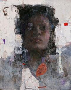 """Veiled"" Oil Painting"