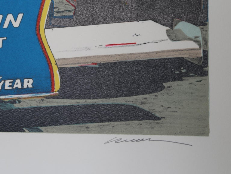 Tom Sneva - Print by Ron Kleeman