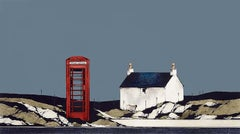 Calling Me Back - Signed, Limited Edition Print, Landscape by Ron Lawson