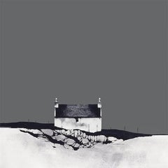 Croft House, Harris - Signed, Limited Edition Print, Landscape by Ron Lawson