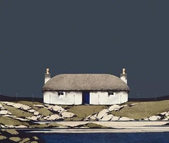 Hebridean Thunder - Signed, Limited Edition Print, Landscape by Ron Lawson