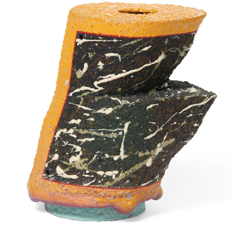 Untitled (Unique Ceramic California Clay Sculpture)