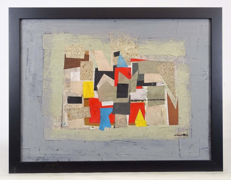 Collage - Abstract Expressionist Mixed Media Art by Ronald Ahlstrom