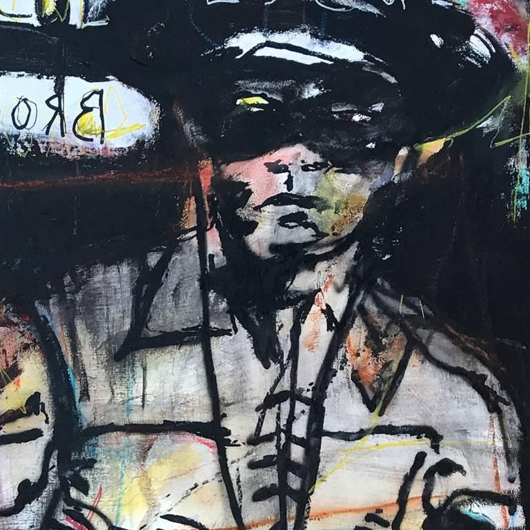 Broken Arrow / The Lone Ranger - American Modern Mixed Media Art by Ronald Allen (Wick) Wickersham